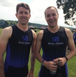 Beach Baker raises over £2,000 for The Great Western and London Air Ambulance charities in two triathlon events